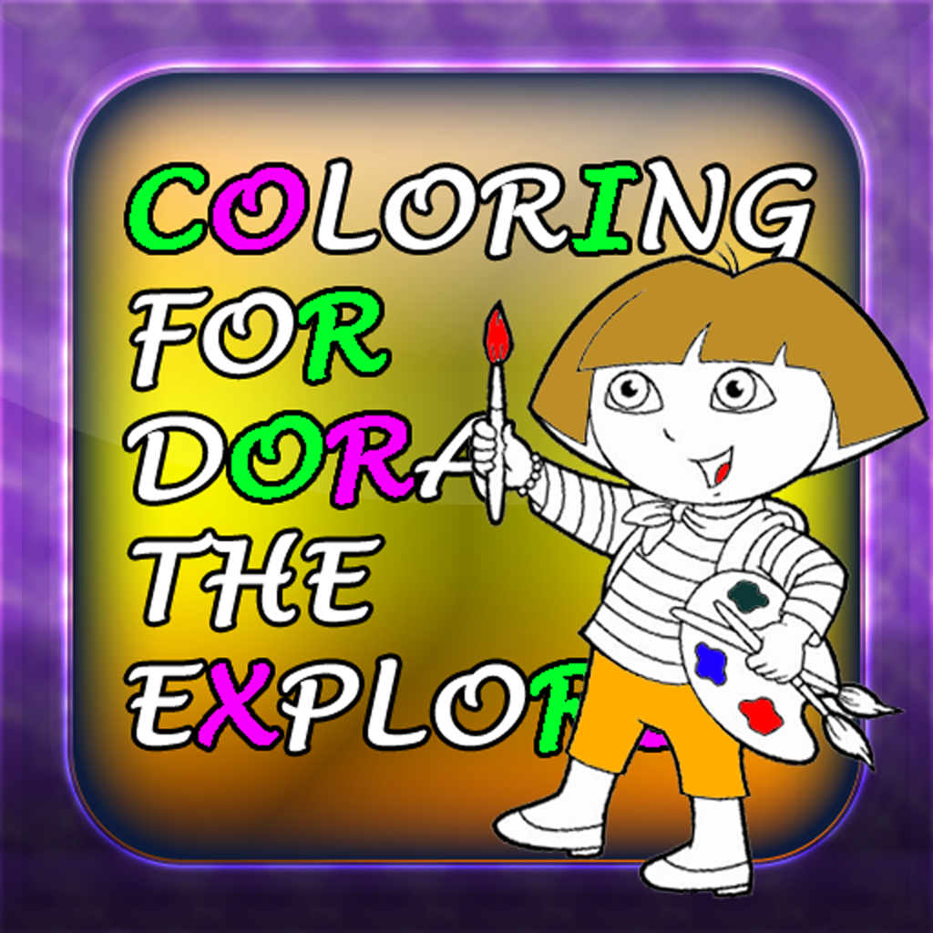 Coloring Game For Dora The Explorer